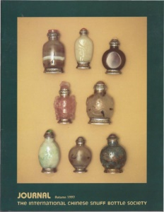 Cover page of the Autumn 1997 International Chinese Snuff Bottle Society Journal